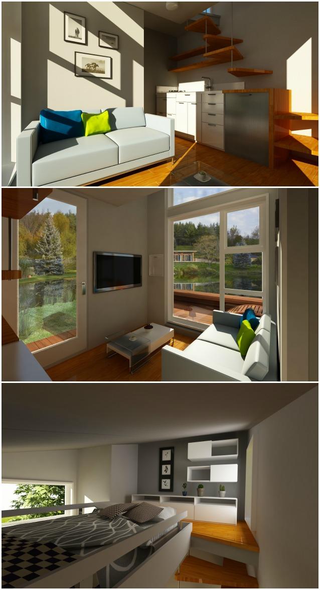 Meno di 25000 euro per costruire la propria mini casa mobile for Quanto costerebbe costruire la propria casa