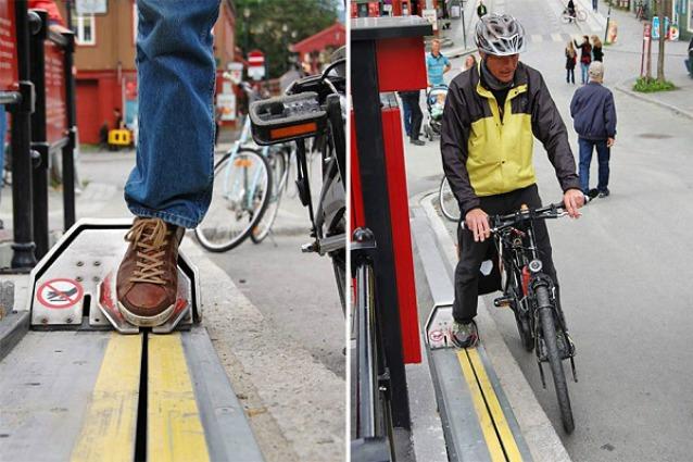 Norvegia: è qui la prima scala mobile per biciclette al mondo