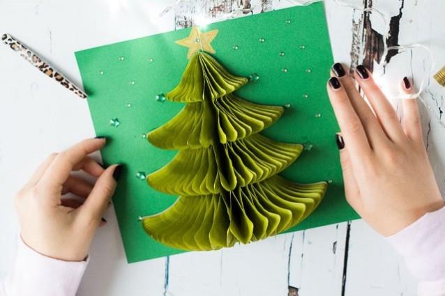 Preferenza Natale last minute come creare originali biglietti di auguri QK44