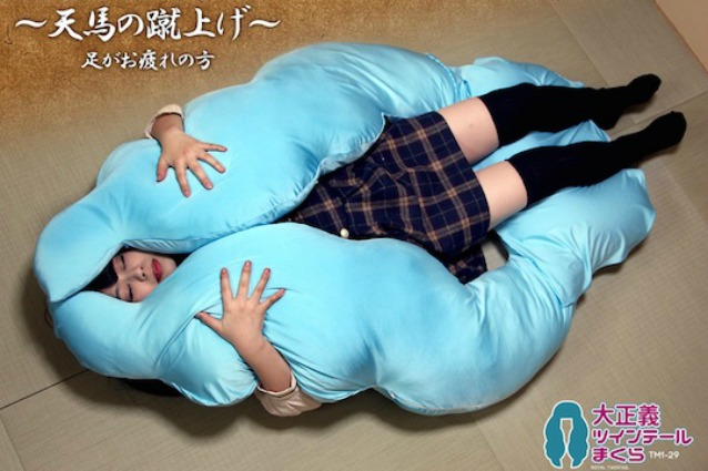 Giappone: ecco il cuscino a forma di nuvola per sogni paradisiaci