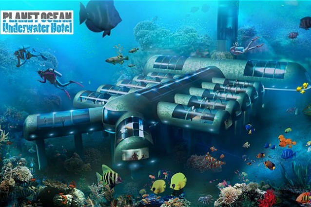 Florida: ecco il primo hotel sottomarino che proteggerà la barriera corallina