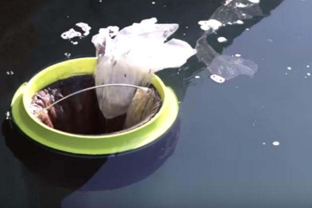 Seabin, il primo cestino che ripulisce gli oceani senza sosta