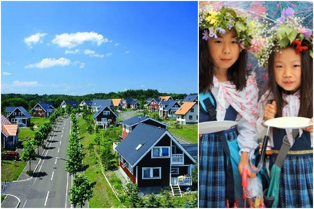 Sembra la Svezia invece è il Giappone: questo villaggio nipponico è davvero incredibile