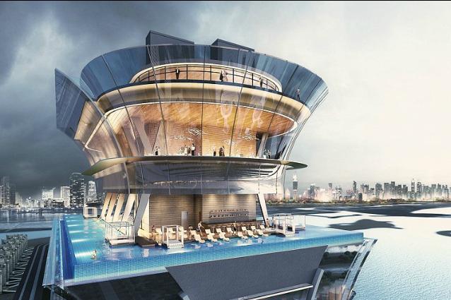 Sarà il luogo più mozzafiato in cui nuotare: ecco il nuovo hotel 5* di Dubai