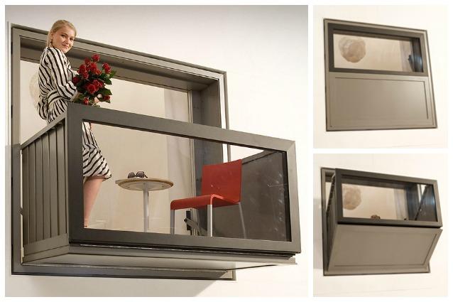 bloomframe la prima finestra che diventa balcone