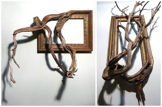 Trova dei vecchi rami e gli d una seconda vita il - Rami decorativi legno ...