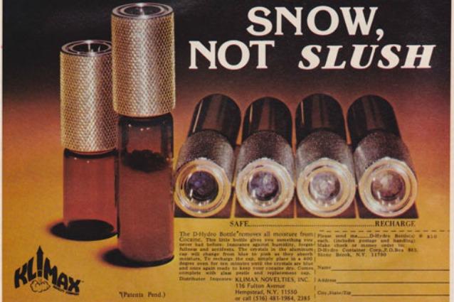 È Narcos mania: ecco le migliori pubblicità di gadget per la droga