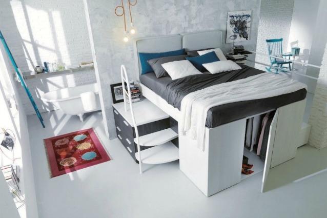 La stanza in un letto: ecco l'arredo salva-spazio che nasconde di tutto