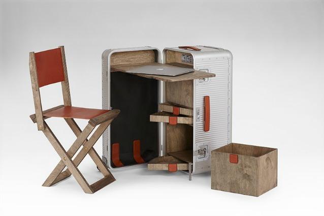 Nexstep ecco la valigia che diventa sedia