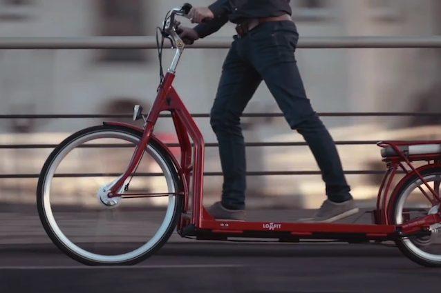 Lopifit, la prima bici che si pedala come un tapis roulant