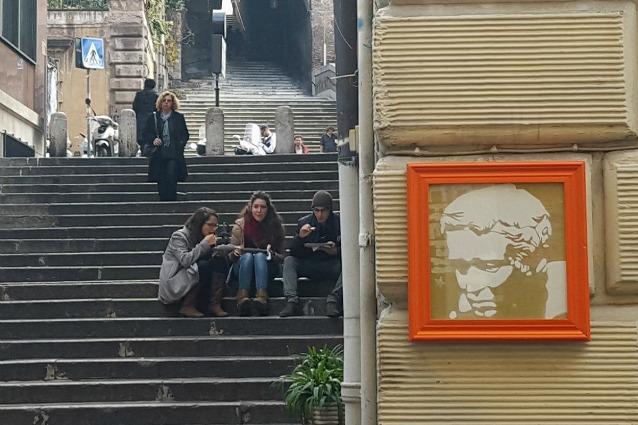 Roma, l'arte si può rubare: ecco l'originale idea