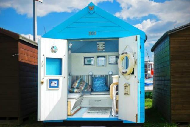 Sapore di mare revival come trasformare le cabine da for Cabina come case