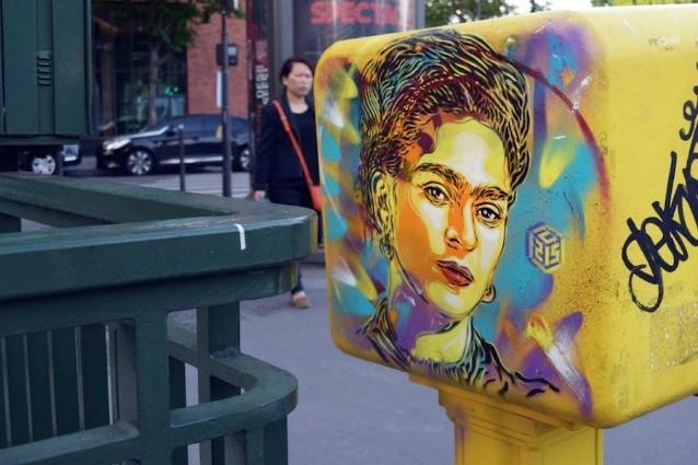 Le grandi donne della storia diventano opere di street art: ecco il tributo di C215