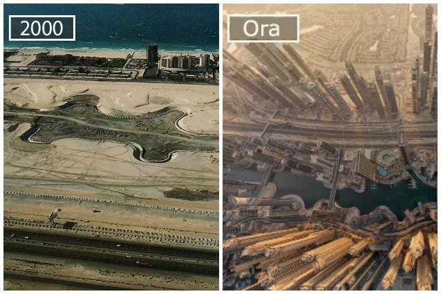 Città prima e dopo: ecco come sono cambiate le più famose metropoli nel tempo