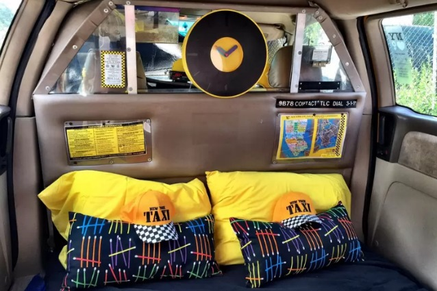 New York, ecco come dormire in taxi con Airbnb