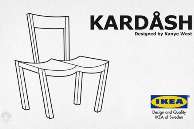 KARDASH: la sedia di IKEA ispirata al sedere di Kim Kardashian