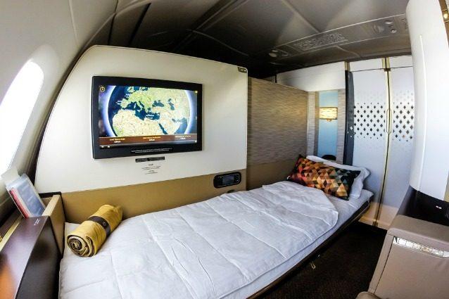 Lusso in aereo: ecco le migliori cabine di prima classe al mondo