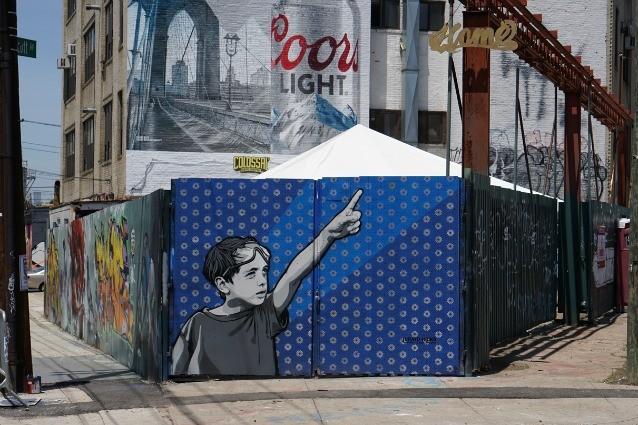 Cantieri come gallerie d'arte: quando la street art è a servizio delle città