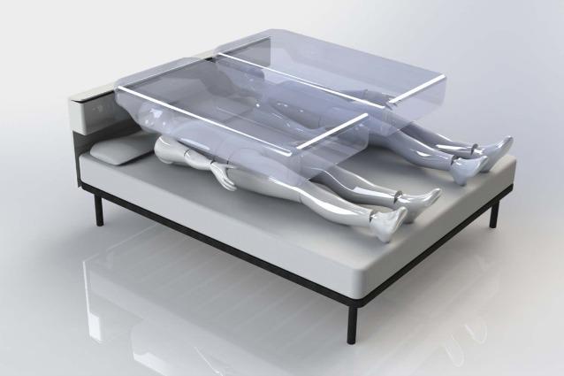 A 24 anni crea il letto anti terremoto ecco l 39 airbag - Letto anti terremoto ...