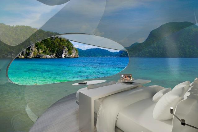 Driftscape: ecco il primo albergo galleggiante che può anche volare