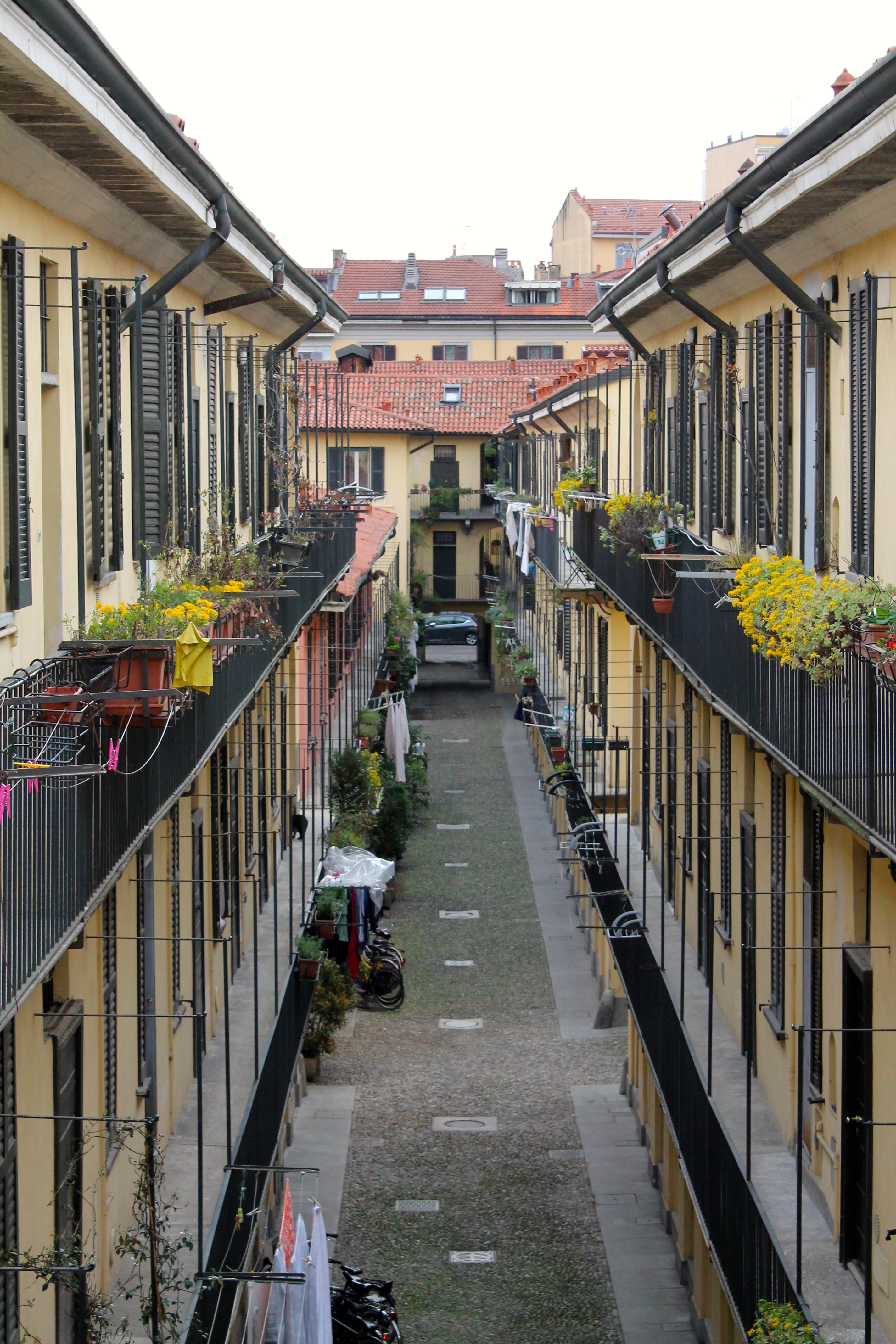 Le casére in Corso San Gottardo 18