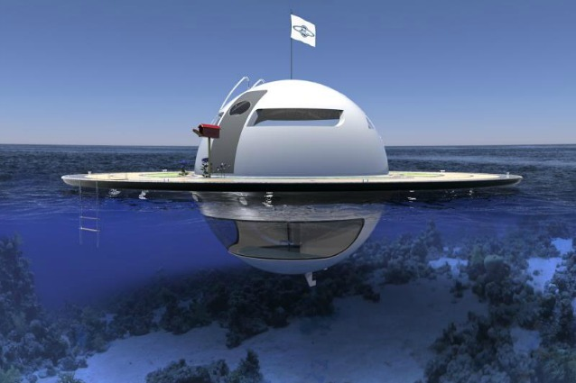 U.F.O.: questa casa galleggiante è inaffondabile