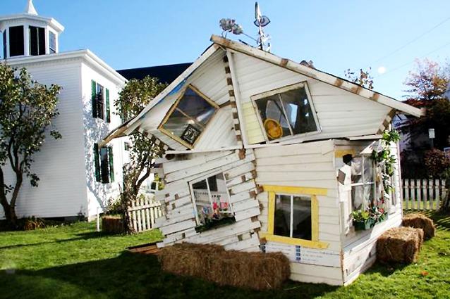 Nessun posto come casa ecco la casa di dorothy del for Case di design del midwest