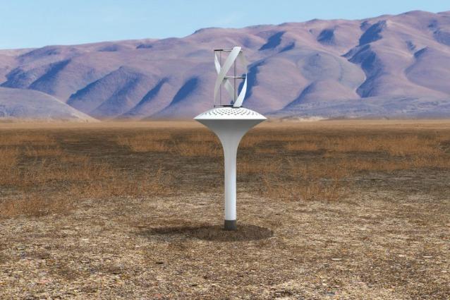 Waterseer la prima turbina che produce acqua potabile dal for Acqua design italia