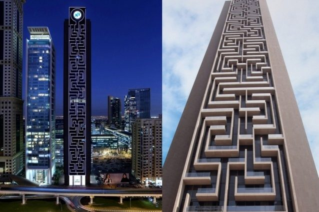 Dubai, ecco il più grande labirinto verticale del mondo