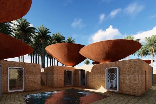 Un tetto ingegnoso: ecco il progetto per raffreddare naturalmente le case dell'Iran