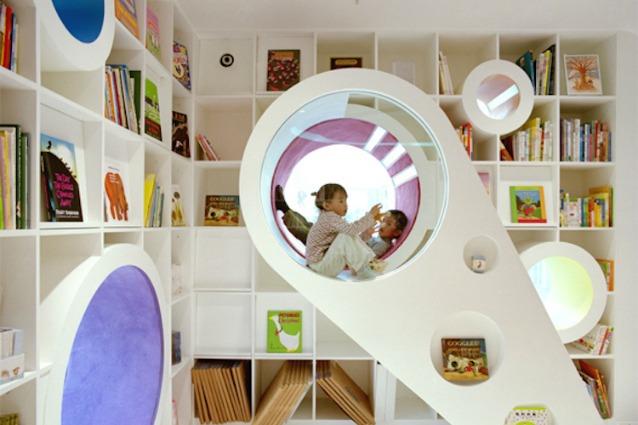 Scaffale Libreria Per Bambini : Librerie per bambini le idee più belle labrocheuse