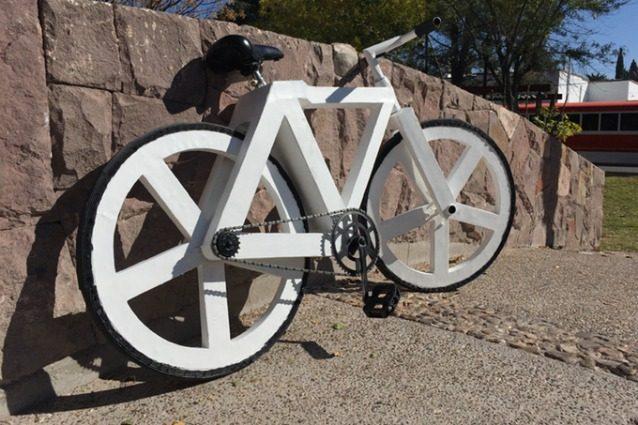 Urban GC1: la prima bici fatta di carta riciclata che non fora le ruote