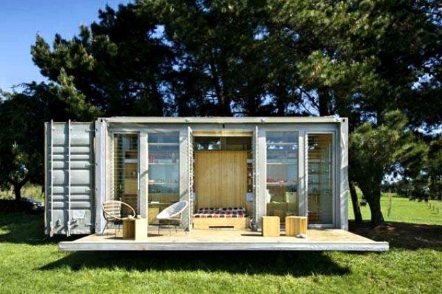 Un container costa 2.000 euro: 13 modi per trasformarlo in una casa di lusso
