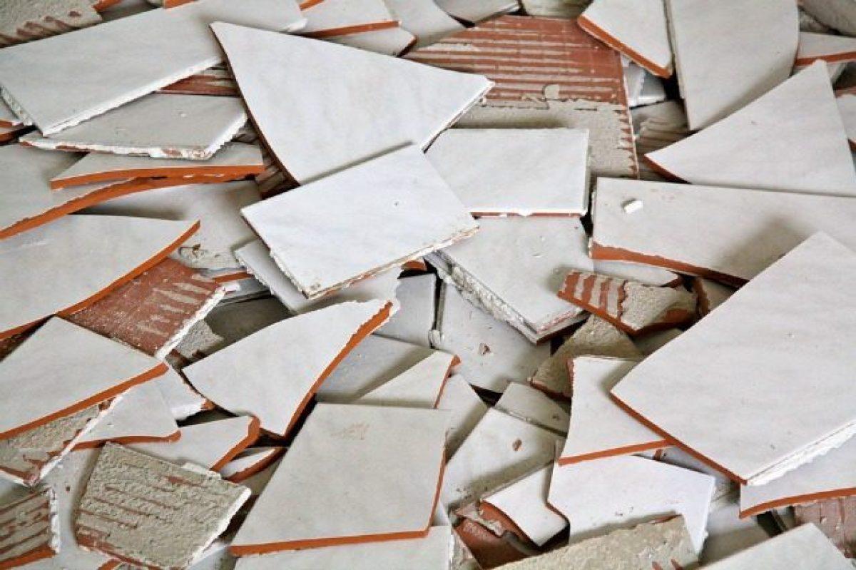Come riciclare le vecchie mattonelle idee fai da te per