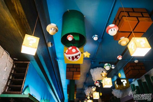 Nel primo bar di Mario Bros: il sogno di ogni amante dei video games diventa realtà