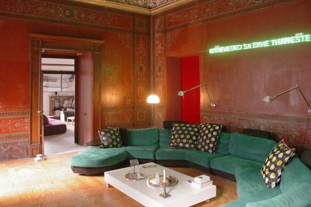 Napoli nelle case degli architetti 5 magnifiche for Foto case arredate