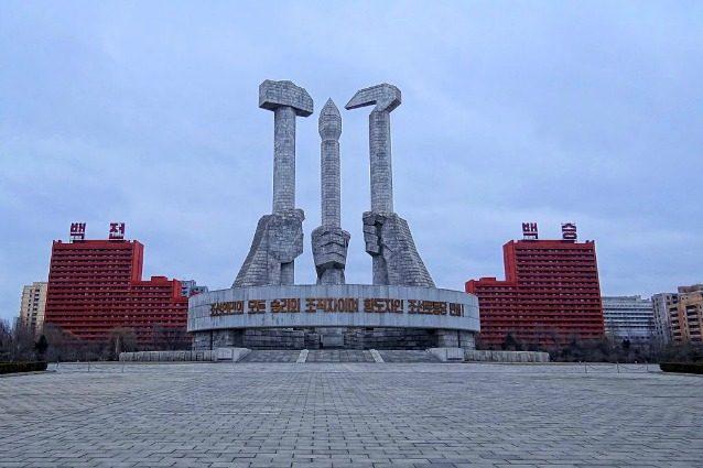 L'architettura inquietante della Corea del Nord