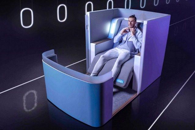 Simba Air-Hybrid: il posto d'aereo più avanzato che abbiate mai visto