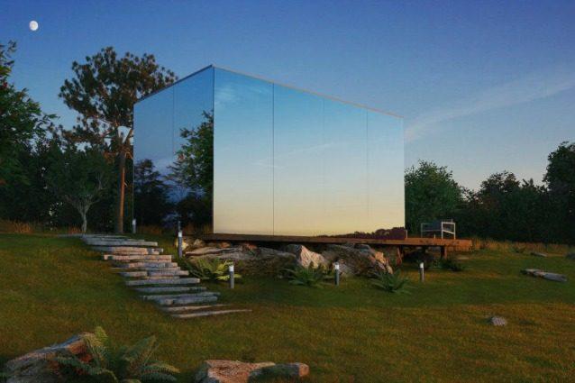 OOD: le case di vetro che si costruiscono in 8 ore con meno di 40.000 euro