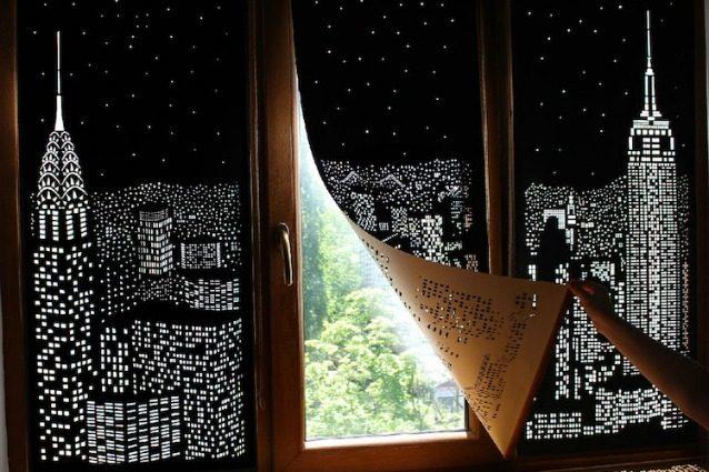 Una finestra sulla notte di New York: come crearla in casa propria