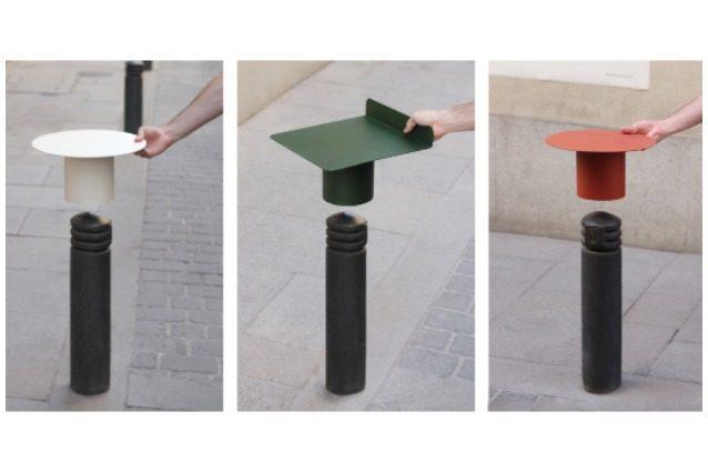 PLUG A SEAT: ecco come trasformare i paletti delle città in mobili da strada