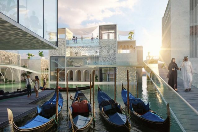 The Floating Venice: a Dubai arriva la replica galleggiante di Venezia