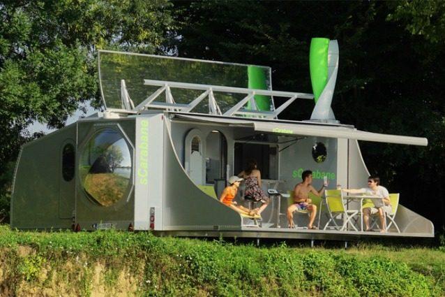 SCarabane: il caravan che ruota per seguire il sole, il vento e i tuoi desideri