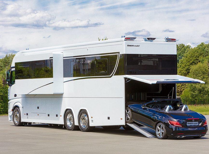 Il camper pi grande e costoso al mondo - Interni camper di lusso ...