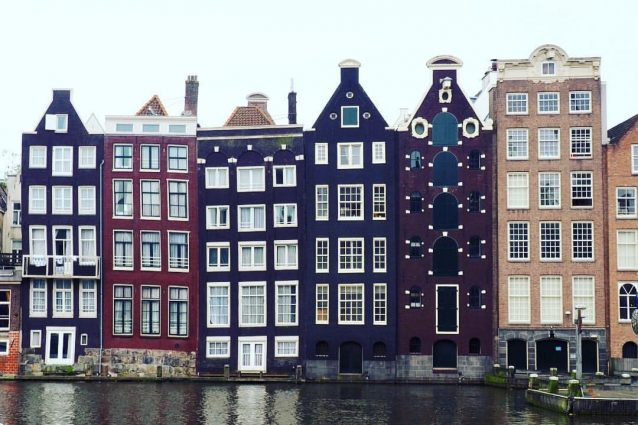 ecco perch le case di amsterdam sono storte