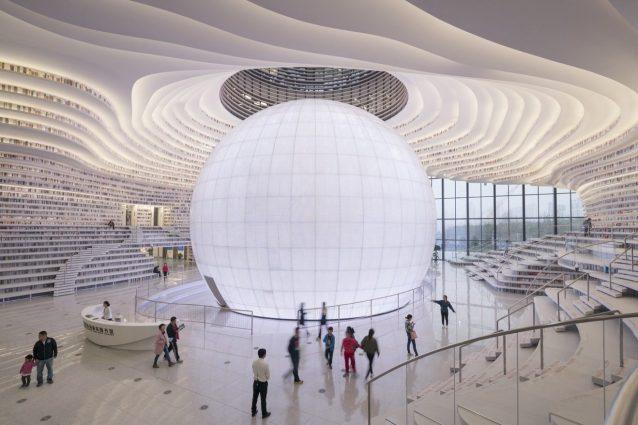 Tianjin Library – MVRDV ©Ossip van Duivenbode