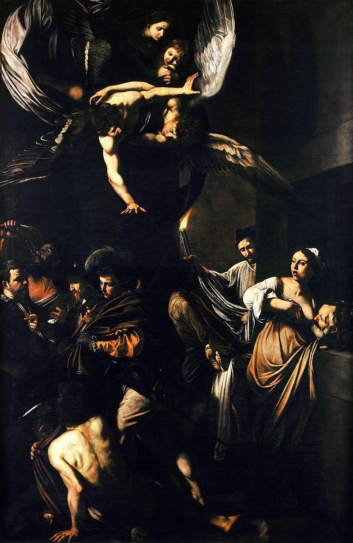 Caravaggio – Sette opere di Misericordia (1607, Pio Monte della Misericordia – Napoli)