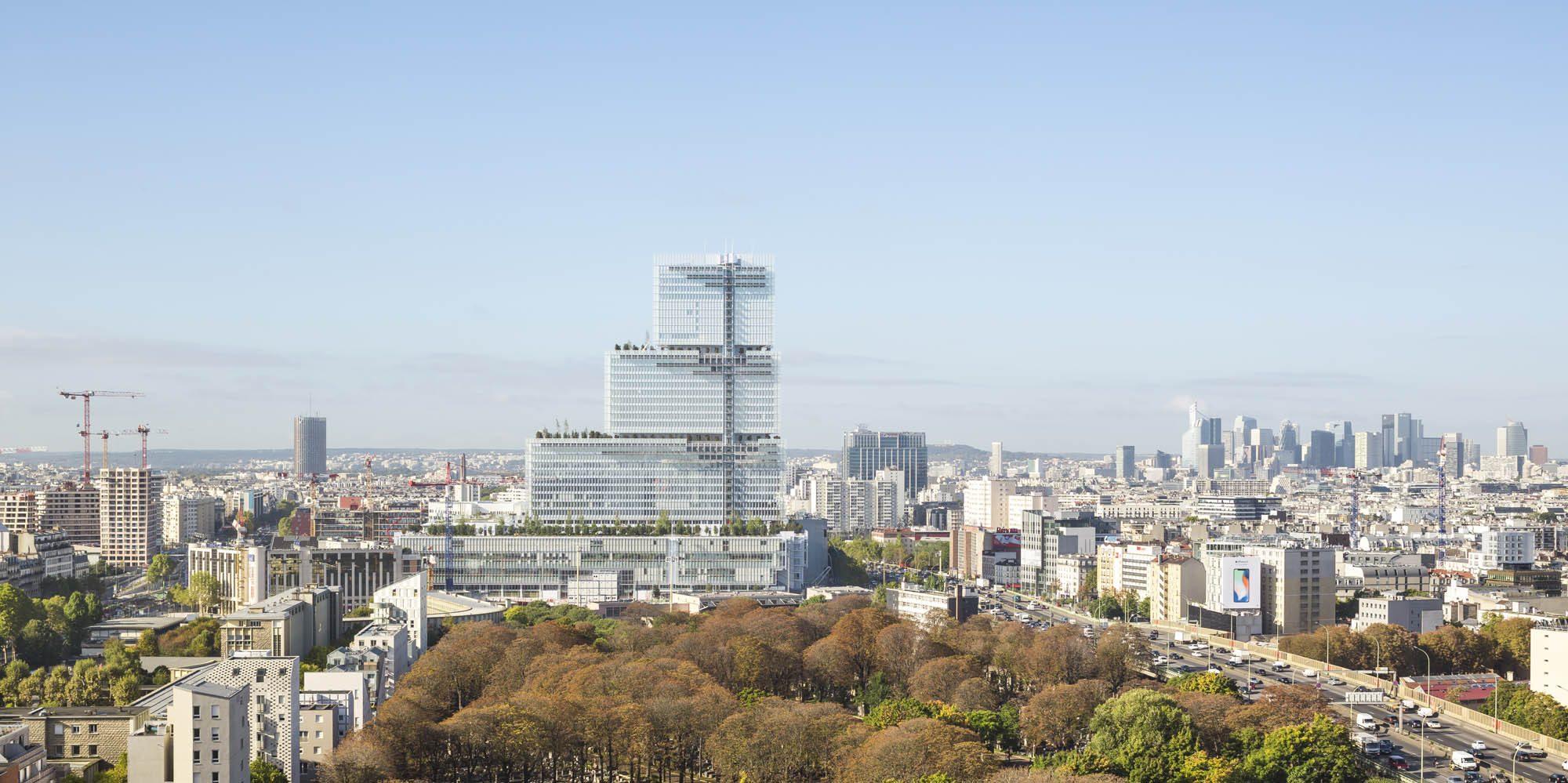 Opere Di Renzo Piano parigi, renzo piano firma il nuovo palais de justice