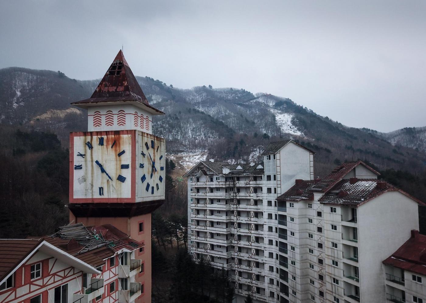 Corea del sud la stazione sciistica abbandonata di sokcho for Xxiii giochi olimpici invernali di pyeongchang medaglie per paese