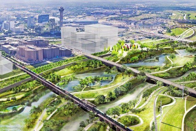A dallas un parco urbano 12 volte pi grande del central for Negozi di arredamento del distretto di design dallas